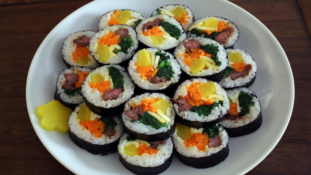 kim bop - korean sushi
